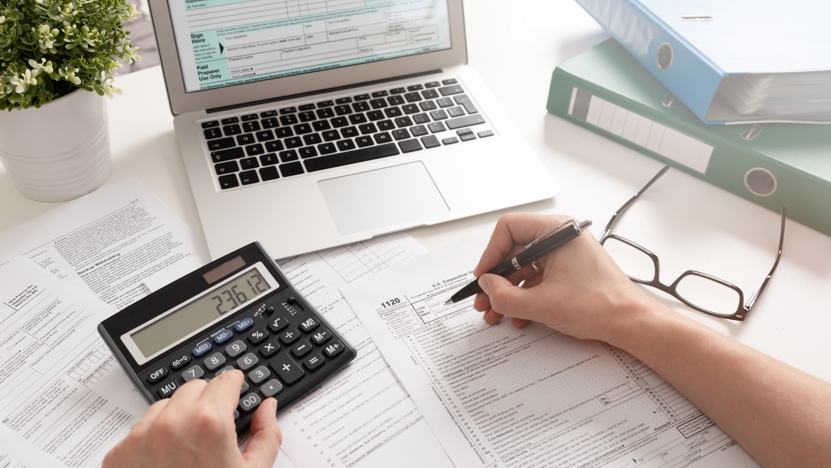 Accounting rate for quality work